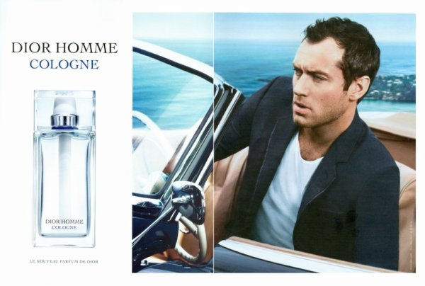 bd4ffd52ed9e Dior Homme Cologne Double page